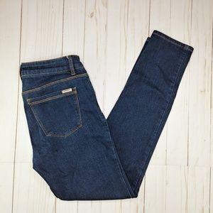 WHBM | Dark Wash Skimmer Skinny Ankle Jeans